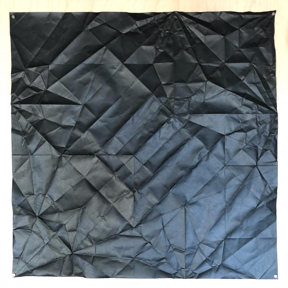 Dachshund, , 70 x 70 cm crease pattern [John Montroll]