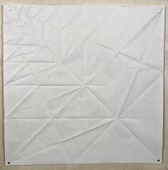 Argonaut, 70 x 70 cm crease pattern [Tomoko Fuse]